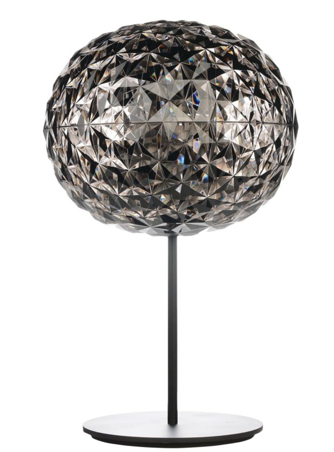 Kartell - Planet Table Light with Dimmer Smoke