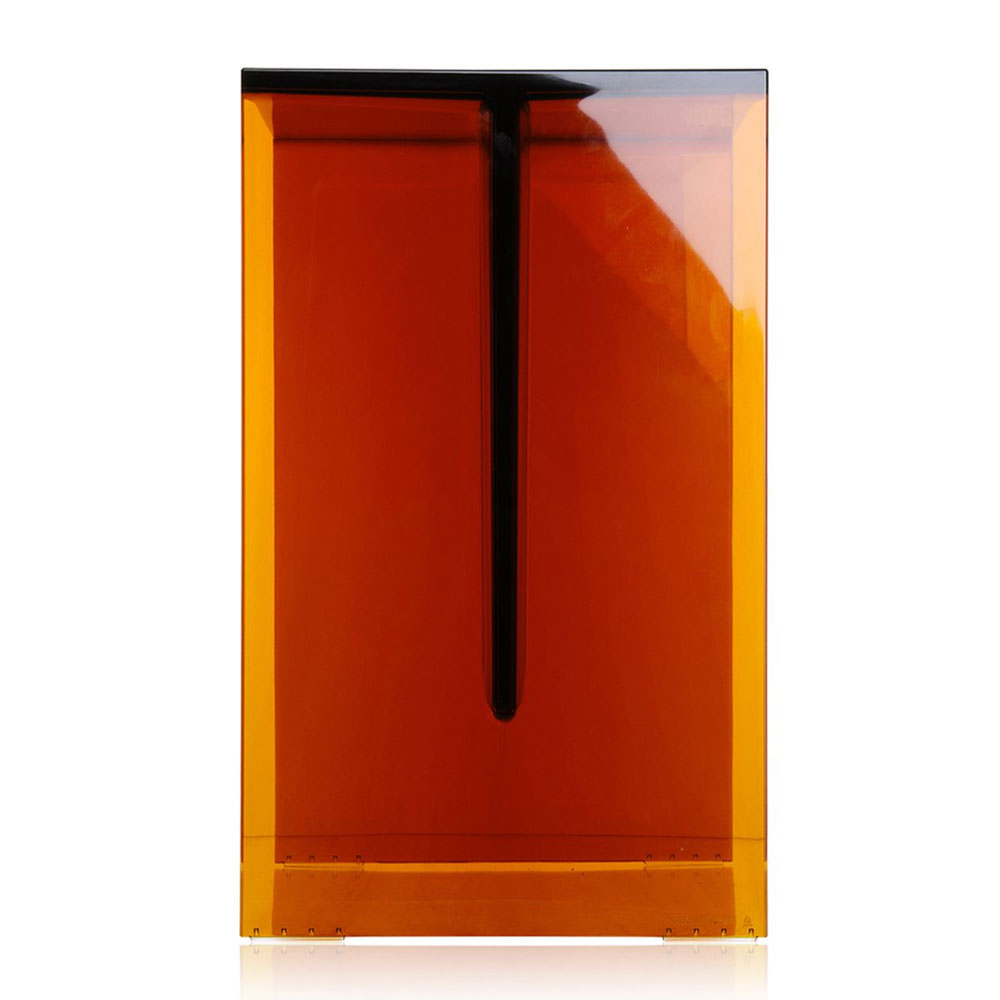 Kartell by Laufen Max Beam Stool Table Amber