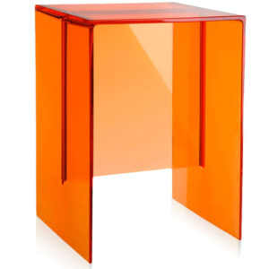 Kartell by Laufen Max Beam Stool Table Tangerine