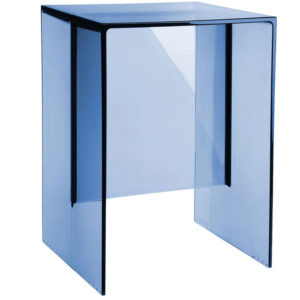 Kartell by Laufen Max Beam Stool Table Sunset Blue