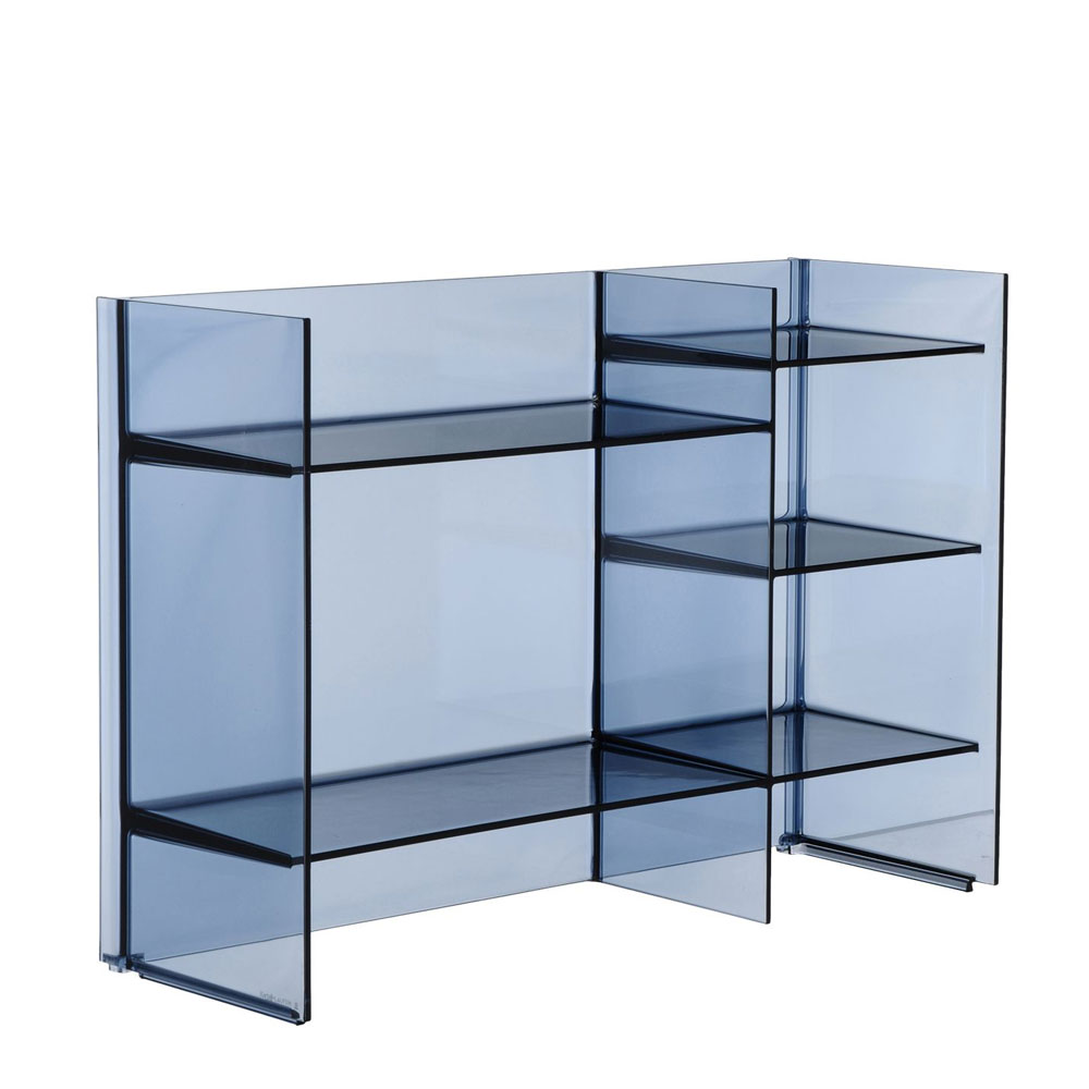 Kartell By Laufen Sound Rack Shelving Sunset Blue