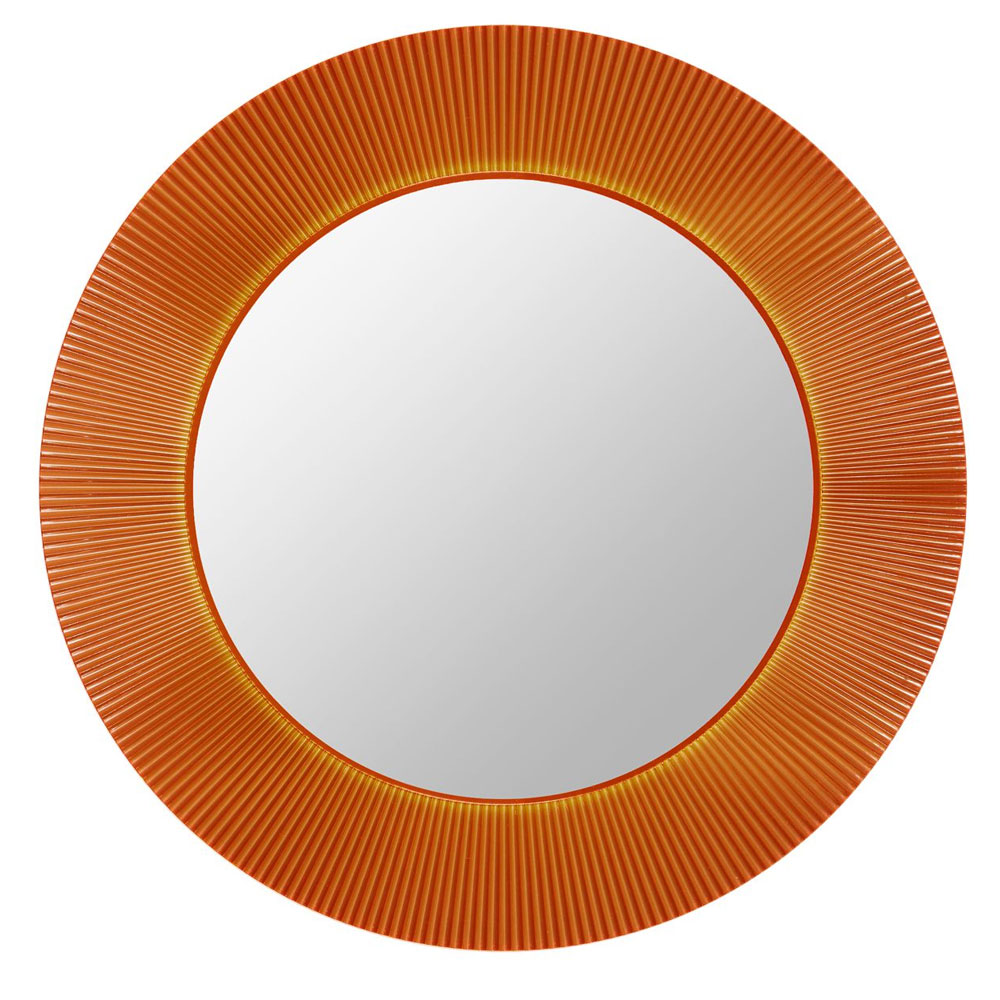 Kartell All Saints Mirror Amber LED Backlit