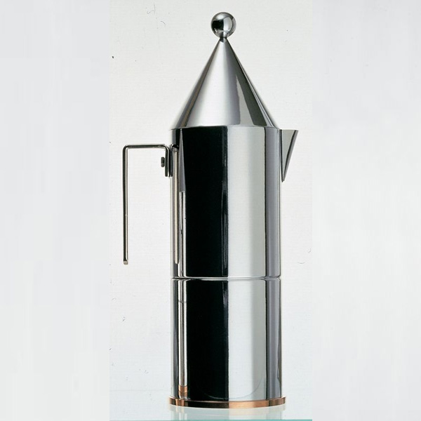 Alessi   La Conica Espresso Coffee Maker   3 Cup