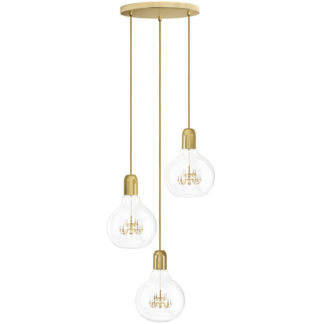 Mineheart King Edison Trio Suspension Light