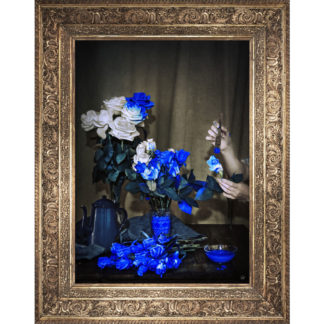 Mineheart - Scent Of Cobalt Stretched Printed Canvas Small