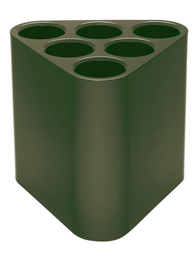 Magis Barber Osgerby Poppins Umbrella Stand Olive Green