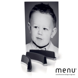Menu - Black Titanium Picture Holder (3 pcs)