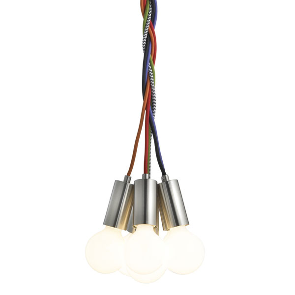Frandsen - Metro Pendant Light - Black Cord