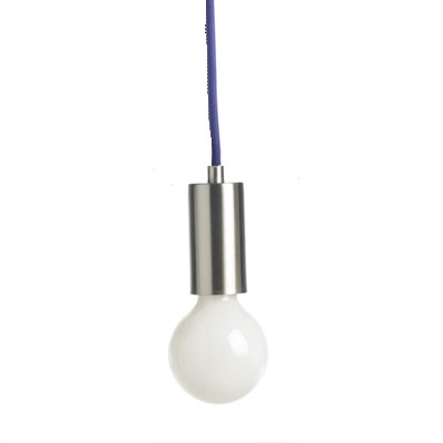 Frandsen - Metro Pendant Light - Purple Cord