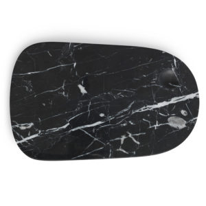 Normann Copenhagen - Marble Pebble Board Large Black