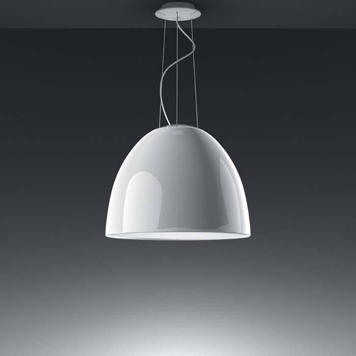 Artemide - Nur Gloss White Suspension Light - Halogen