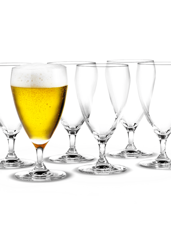 Holmegaard Perfection Beer Glass 44cl 6pcs