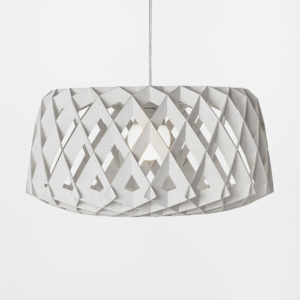 Showroom Finland - White Lacquered Pilke 60 Pendant