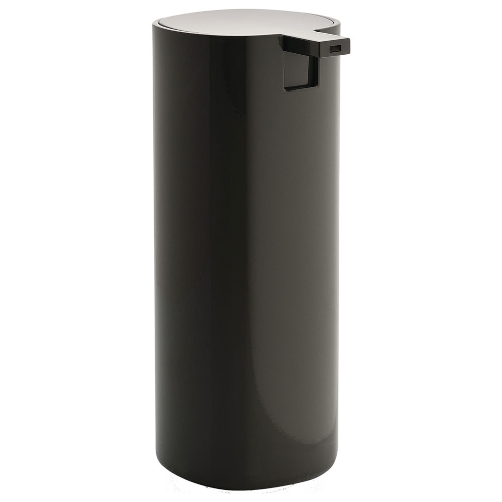 Alessi Birillo Liquid Soap Dispenser Dark Grey