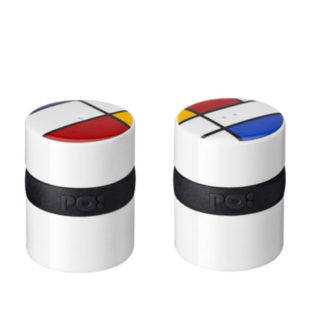 PO - Mondri Ring Salt and Pepper Shakers