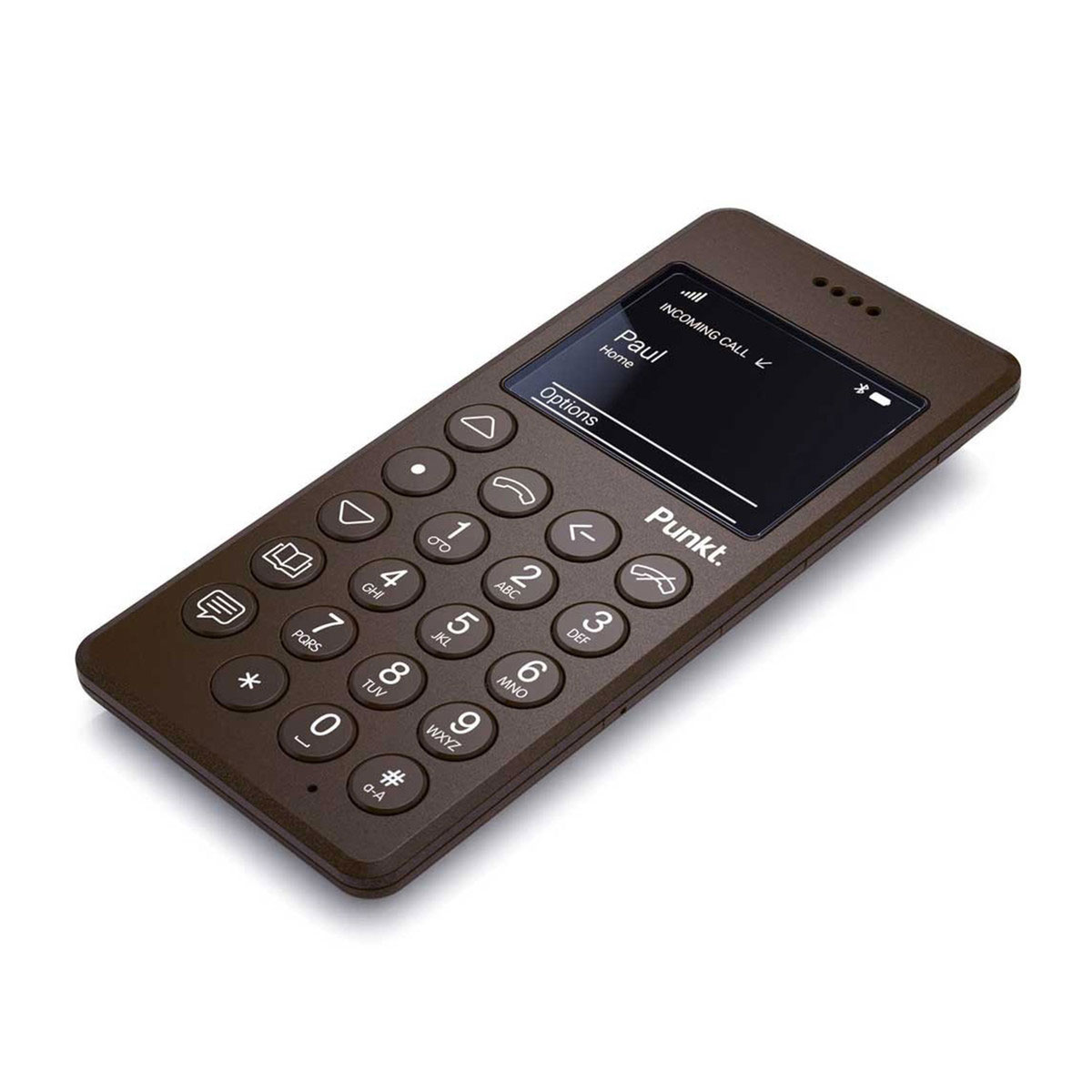 Punkt Jasper Morrison Mp 01 Mobile Phone Brown Panik