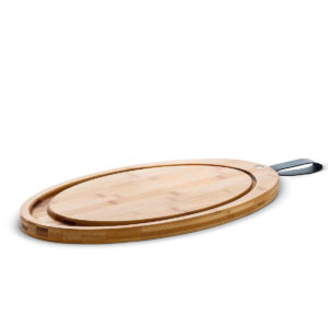 Rosendahl - Oval Bamboo Carving Board with Strap