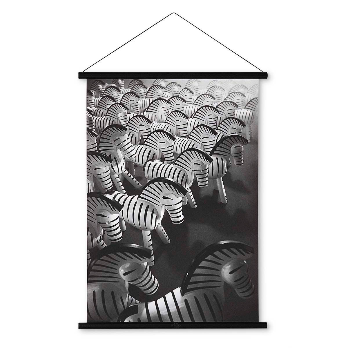 Kay Bojesen Zebra Photo w Wooden Frame
