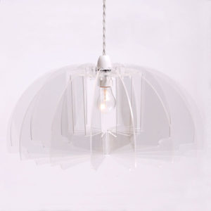 Sonodesign - Half Pendant Profileshade - Clear