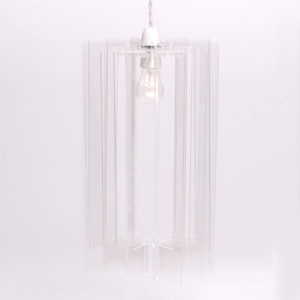 Sonodesign - Long Pendant Profileshade - Clear