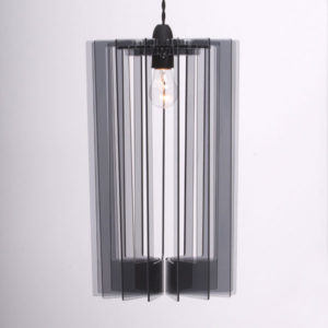 Sonodesign - Long Pendant Profileshade - Smoke