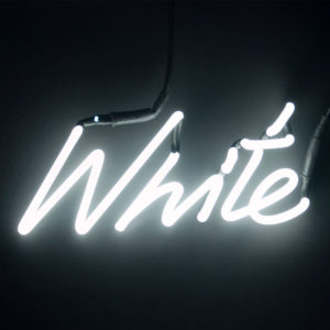 Seletti - Shades WHITE Neon Lamp