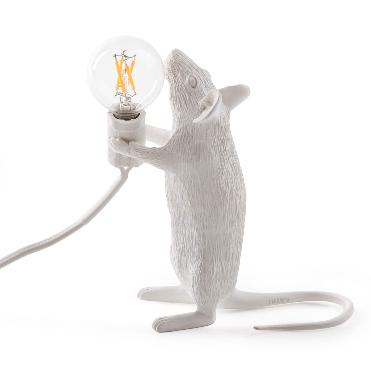 Seletti Mouse Standing Table Light White