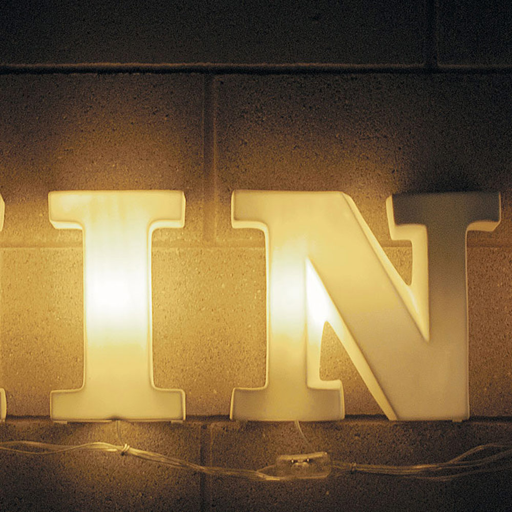 Seletti - Lightype Fine Porcelain Letters and Shapes