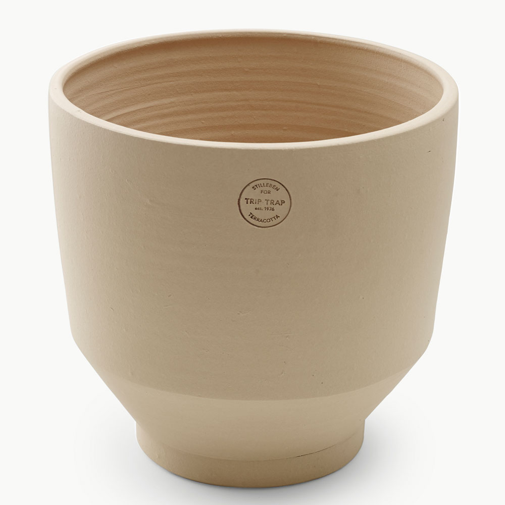 Skagerak - Edge Teracotta Pot Sierra Yellow 35cm