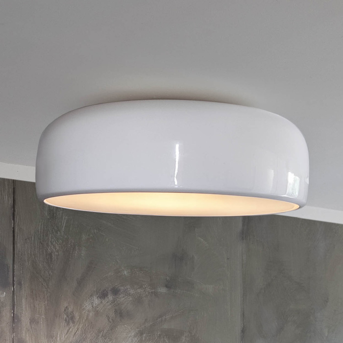 flos smithfield ceiling light panik design