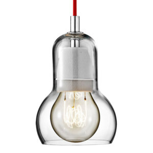&Tradition - Bulb Pendant Light - Red Cord