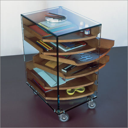 Tonelli - Camicino Mobil Unit with Movable Trays