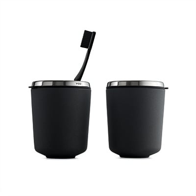 Vipp 7 Toothbrush Holder Black