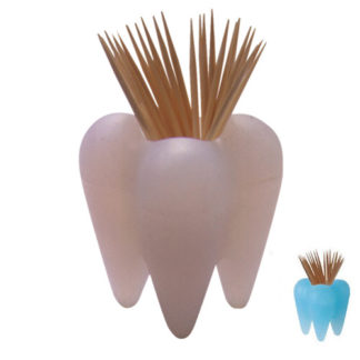 "Propaganda - ""Pick-a-tooth"" Toothpick Holder"