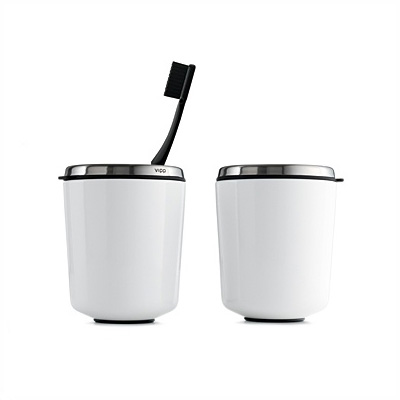 Vipp 7 Toothbrush Holder White