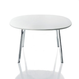 Magis - Large White Round Deja-vu Table