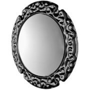 Veblen by Fiam - New Baroque Round Shaped Wall Mirror