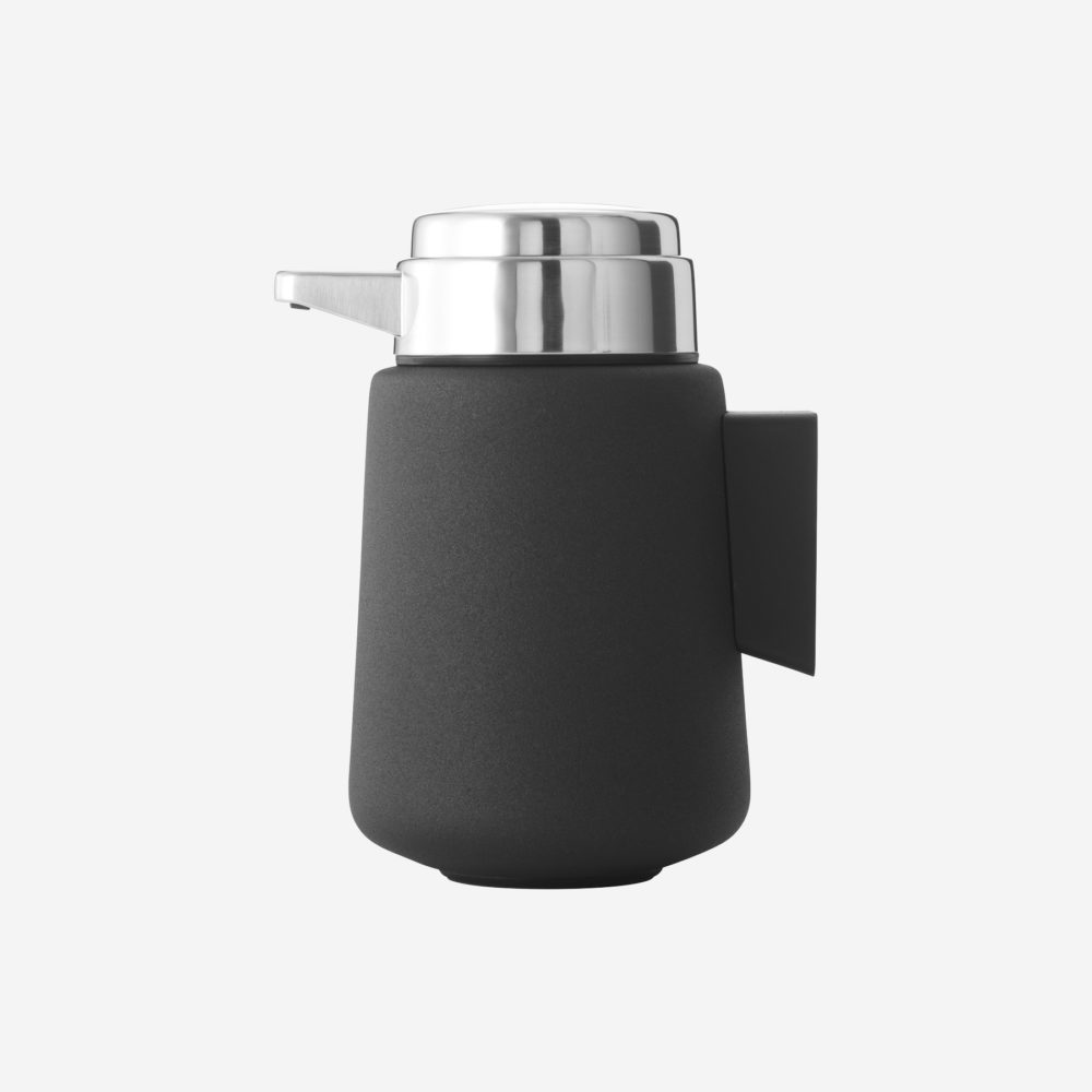 Vipp 9 Black Wall Mounted Soap Dispenser