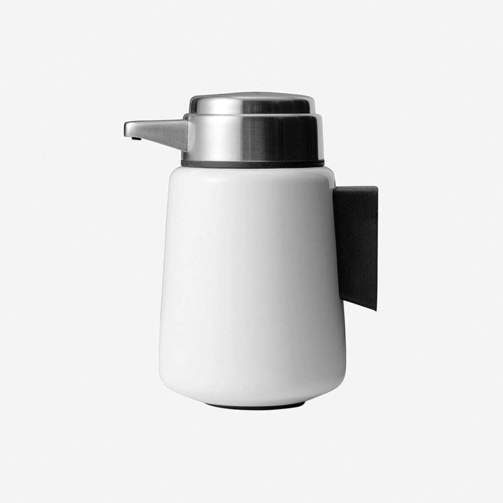 Vipp 9 White Wall Mounted Soap Dispenser