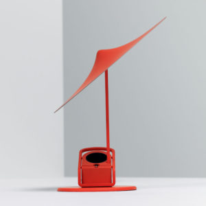 Wastberg - Sempe w153 Wall Desk or Clamp Lamp Poppy Red