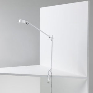 Wastberg - w154c Task Light White w Clamp