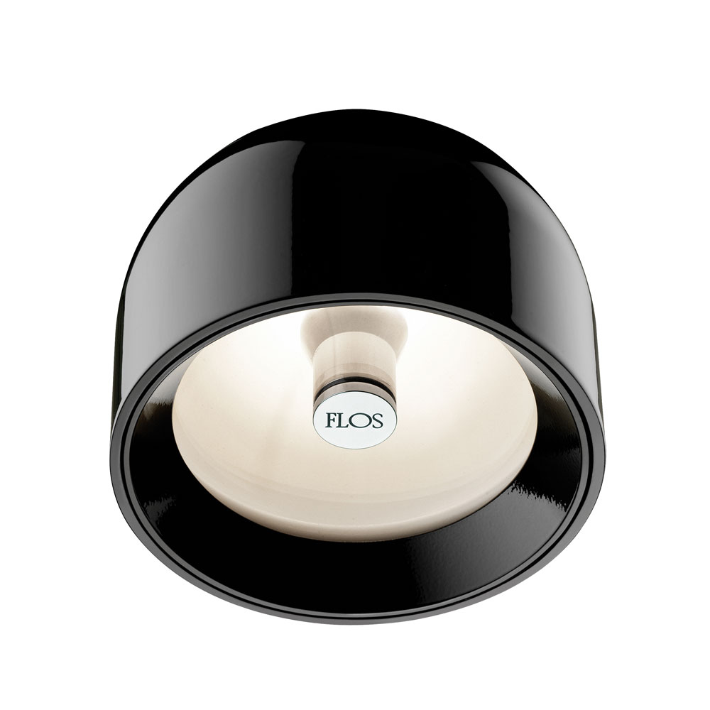 Flos - Wan Wall/Ceiling Light Black