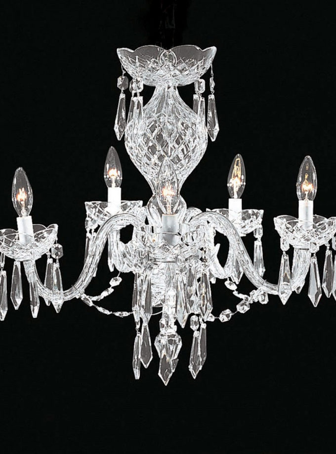Waterford Comeragh 5 Arm Crystal Chandelier