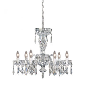 Waterford Lismore 6 Arm Crystal Glass Chandelier