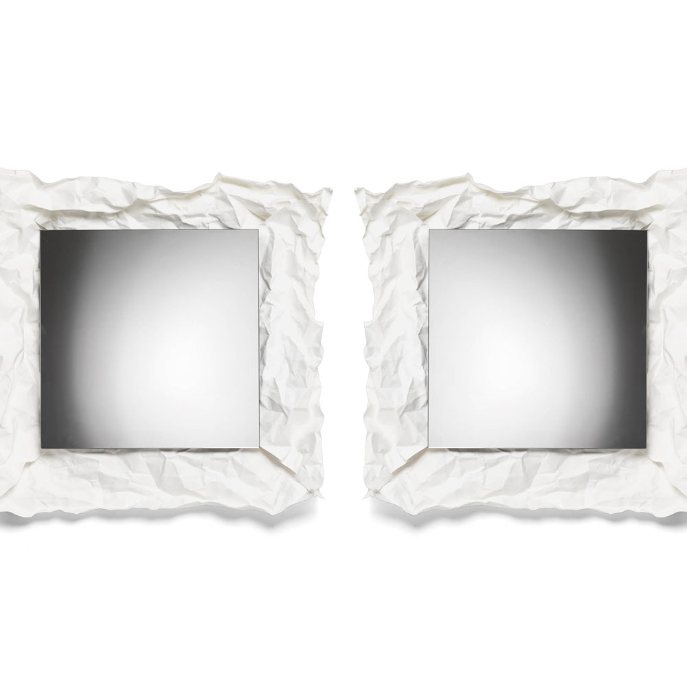 Mogg wow wall mirror small panik design for Small wall mirrors