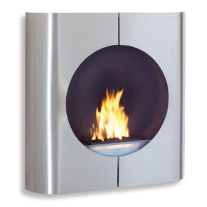 "Blomus - Fl""z Design - ""Chimo"" Square Wall Mounted Fireplace"