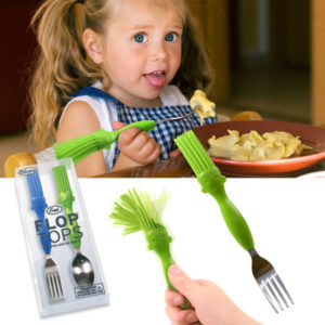 "Fred - Liz Dubois - ""Flop Tops"" Fork & Spoon Set"