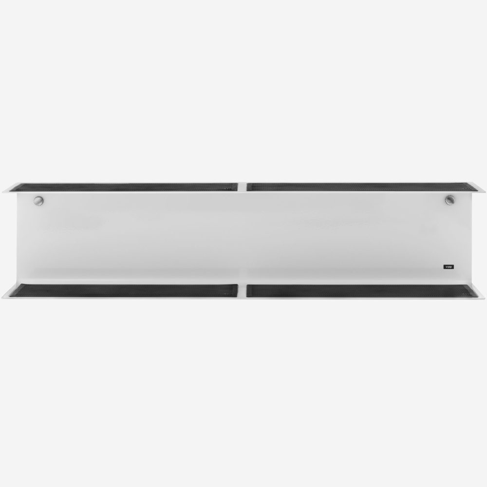 Vipp 922 Large Wall Double Shelf White