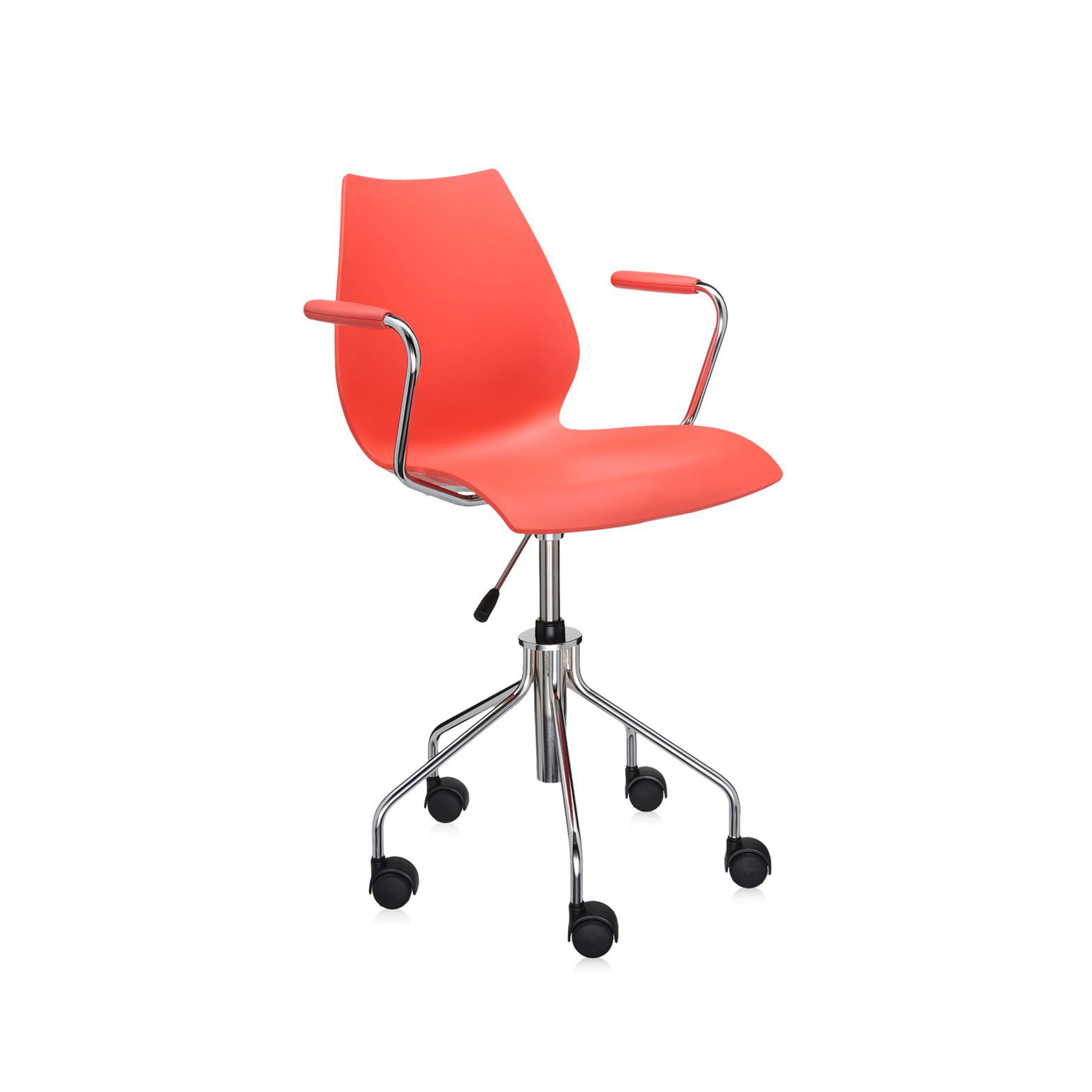 Kartell Maui Adjustable Swivel Armchair w Adjustable Height
