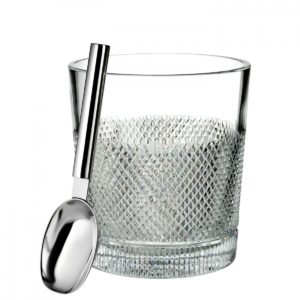 Waterford Diamond Line, Ice Bucket with Scoop